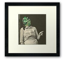 Emerald Wife Framed Print