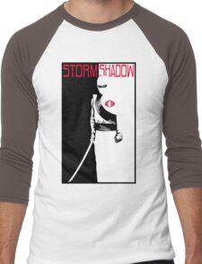 SAY HELLO TO MY NINJA FRIEND Men's Baseball ¾ T-Shirt