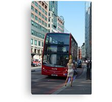 Taxi ! Canvas Print