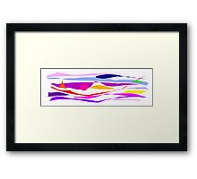 Stream Edge Living Extreme Fusion Rendition Framed Print