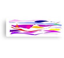 Stream Edge Living Extreme Fusion Rendition Canvas Print