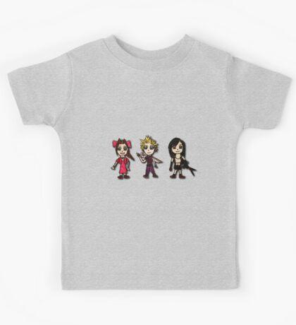 Final Fantasy Cartoons Kids Tee