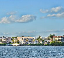 Key Largo Houses by Chris Thaxter