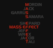 The Names of Mass Effect Unisex T-Shirt