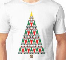 Elf Xmas Tree Unisex T-Shirt