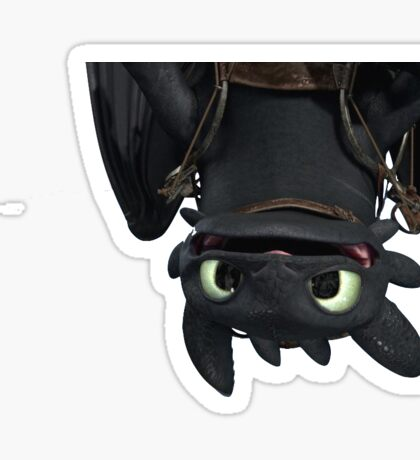 Toothless Sticker