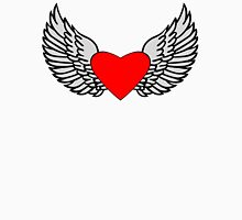 Feathered Wings and Heart T-Shirt