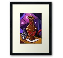 Beer and a Shot Framed Print