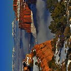 Canyonlands National Park in Snow by IntWanderer