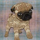 Pug Puppy by artlovepassion