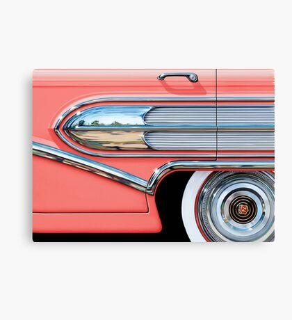 1958 Buick Chrome Bullet Canvas Print