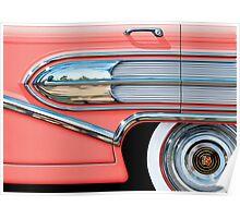 1958 Buick Chrome Bullet Poster