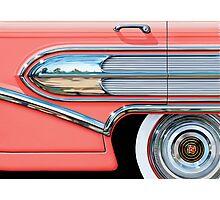 1958 Buick Chrome Bullet Photographic Print