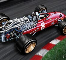 Ferrari 312 Formula One Car by davidkyte