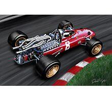 Ferrari 312 Formula One Car Photographic Print