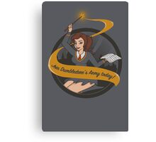 Join Dumbledore's Army today!  Canvas Print
