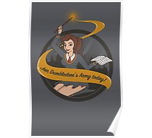 Join Dumbledore's Army today!  Poster