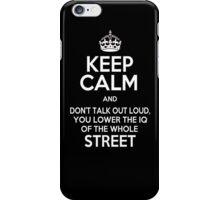 Sherlock - White iPhone Case/Skin