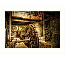 Water mill Art Print