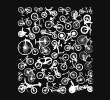 bike bikes Bicycle pattern Unisex T-Shirt