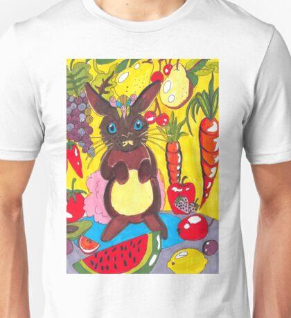 Yellow Rabbit Unisex T-Shirt
