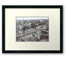 London Eye/iMax Cinema -(260812)- Digital photo Framed Print