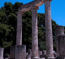Ancient Olympia by GillianSweeney