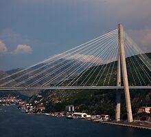 Franjo Tuđman Bridge Dubrovnik by GillianSweeney