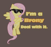 I'm a Brony Deal with it. (Fluttershy) - My little Pony Friendship is Magic Kids Clothes