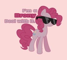 I'm a Brony Deal with it. (Pinkie Pie) - My little Pony Friendship is Magic One Piece - Long Sleeve