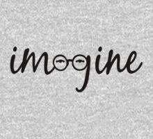 Imagine - John Lennon  Baby Tee