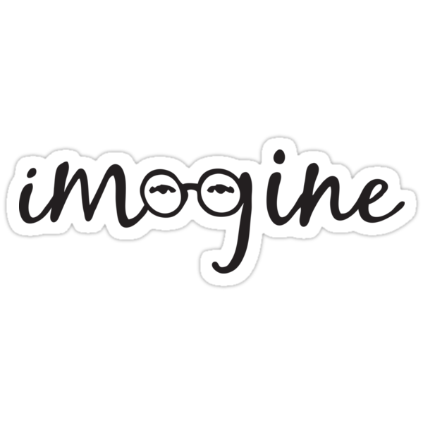 Imagine - John Lennon  by Denis Marsili