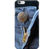 Unbuttoned iPhone Case/Skin
