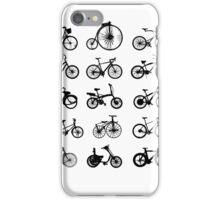 bike pattern Bicycle madness iPhone Case/Skin