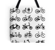 bike pattern Bicycle madness Tote Bag