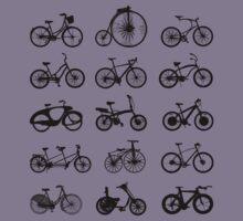 bike pattern Bicycle madness Kids Tee