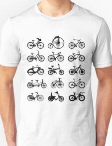 bike pattern Bicycle madness Unisex T-Shirt
