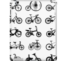 bike pattern Bicycle madness iPad Case/Skin