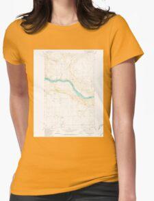 USGS Topo Map Washington State WA Stubblefield Point 244079 1981 24000 T-Shirt