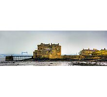 Castle and Crane Photographic Print