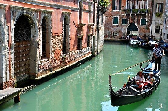 Good Day For A Gondola.... by Ainsley Kellar Creations