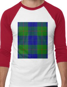 BARCLAY-TARTAN Men's Baseball ¾ T-Shirt
