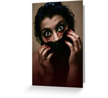 Sounds of Horror Greeting Card