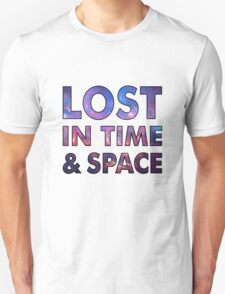 Lost in time and space T-Shirt