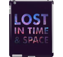 Lost in time and space iPad Case/Skin