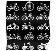 bike bikes Bicycle cycle cycling Poster