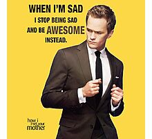 Awesome - HIMYM Photographic Print