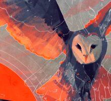 Owl Hunt Sticker