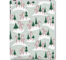 Candy Cane Forest iPad Case/Skin