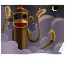 Evil Sock Monkey Poster
